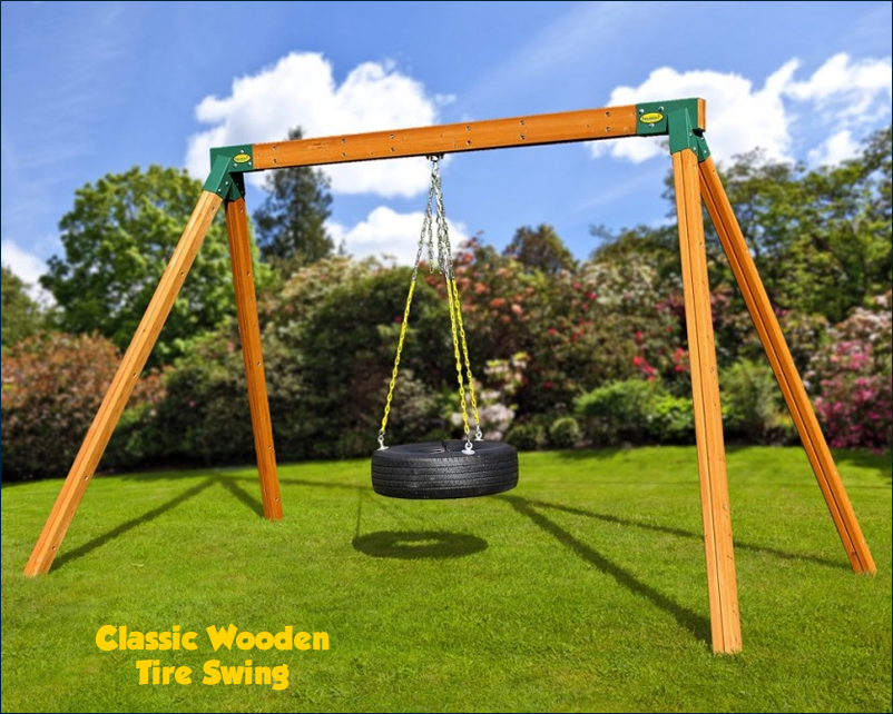 Classic Charlotte Playsets Wooden Swing Sets And